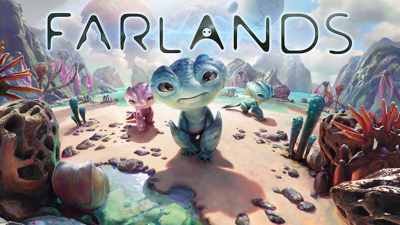 Oculus takes you into the colorful alien world of 'Farlands'