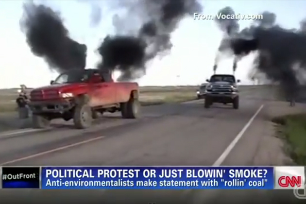 改造ディーゼル車で黒煙を吹き上げる行為をイリノイ州が規制ヘ