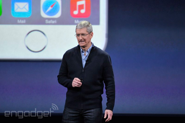Apple CEO Tim Cook at the March 9th