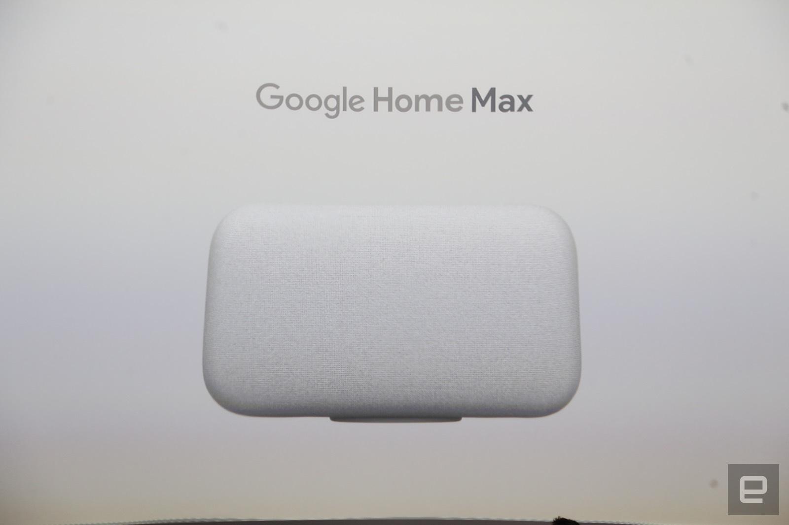 Google Home Max: la versión musculada de Google Home