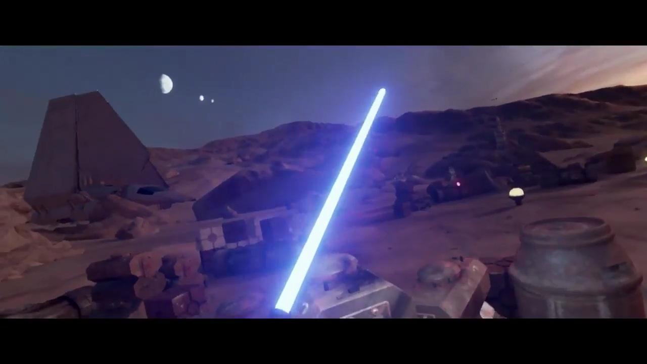 Pronto podrás luchar con tu sable láser en Star Wars para HTC Vive