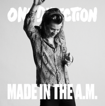 one direction made in the am album cover harry styles