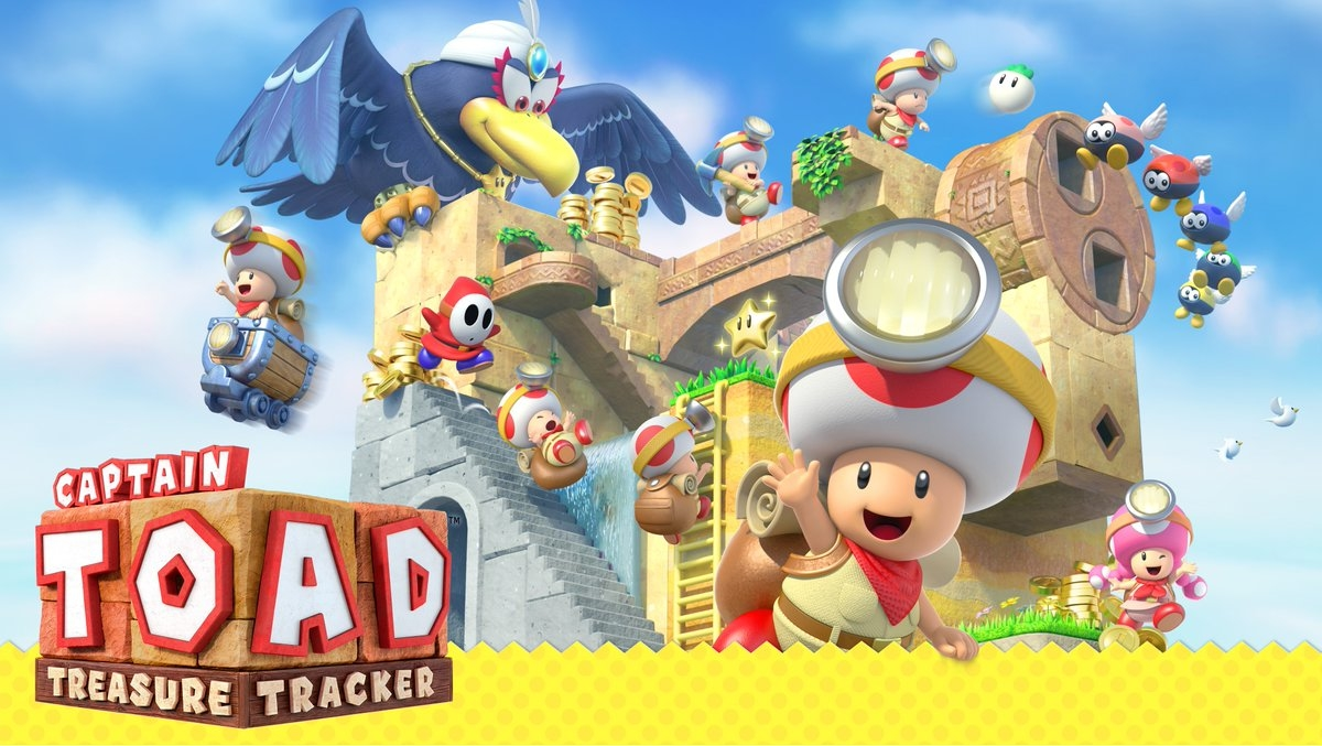 Las aventuras del Captain Toad llegan a Switch y 3DS en julio