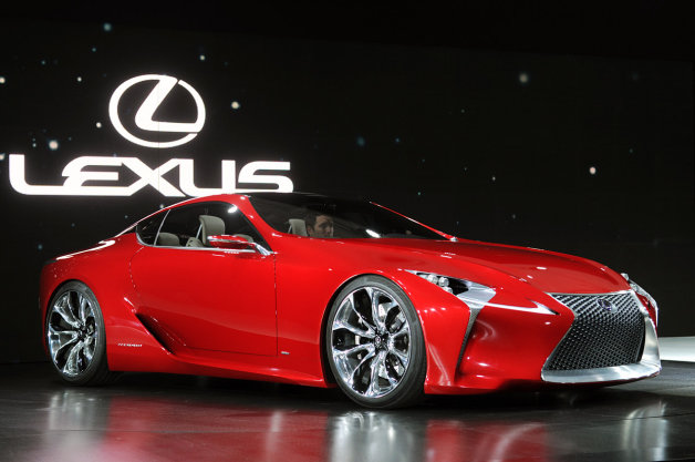 【噂】レクサスの新型クーペ「LF-LC」に最高出力600hpのエンジン!?