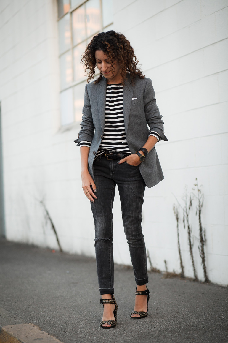 Street style tip of the day: Suit up