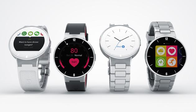 Hezké, dobře vybavené a přitom levné chytré hodinky OneTouch Watch od Alcatelu si brzy koupíte i u nás