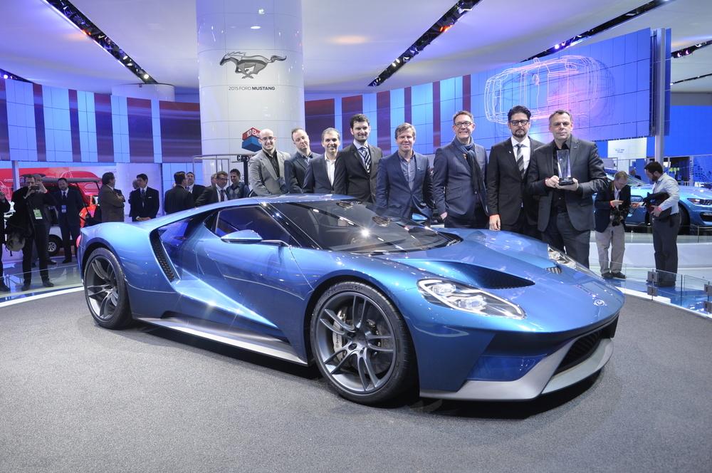 【北米国際自動車ショー2015】フォード、ビュイック、アウディがデザイン賞に輝く!