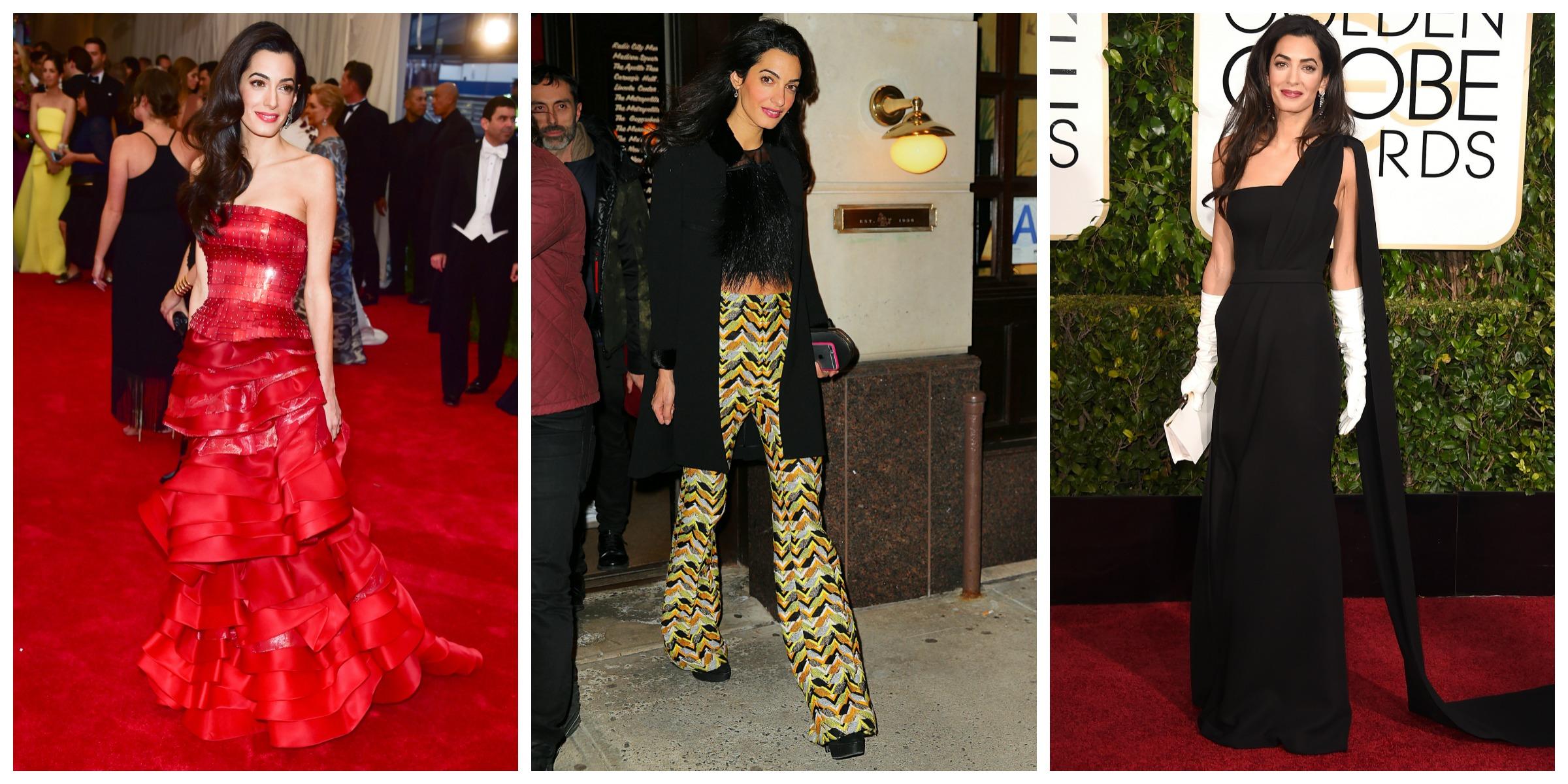 Amal Clooney year of fashion 2015