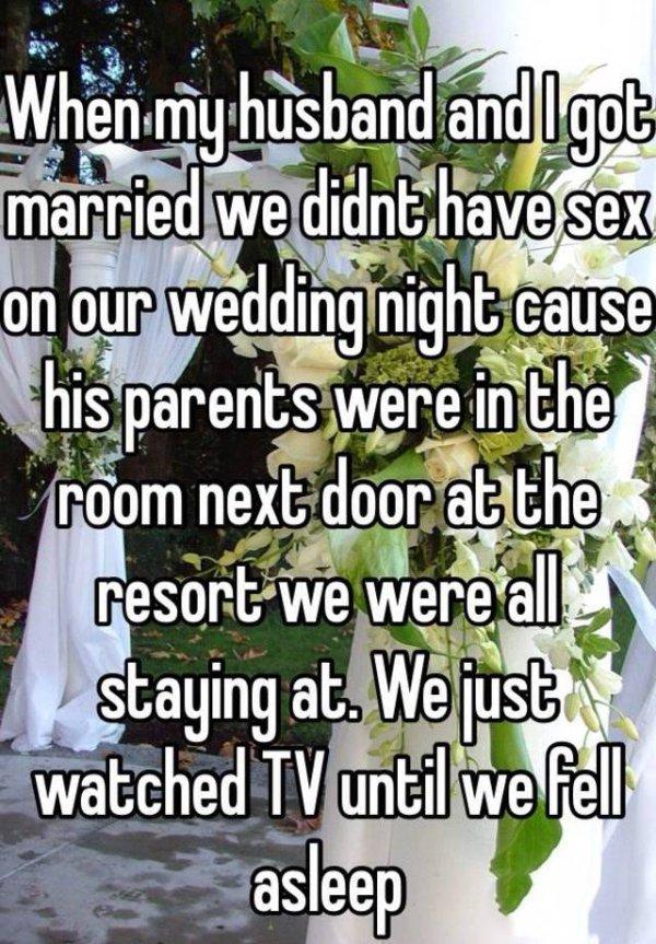 Wedding Night Confessions