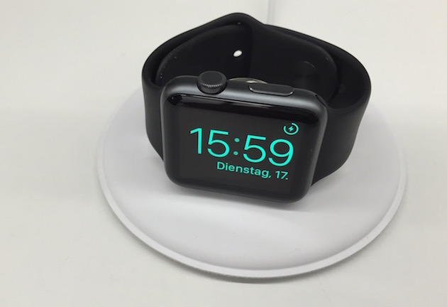 The Apple Watch looks like it's getting an official dock
