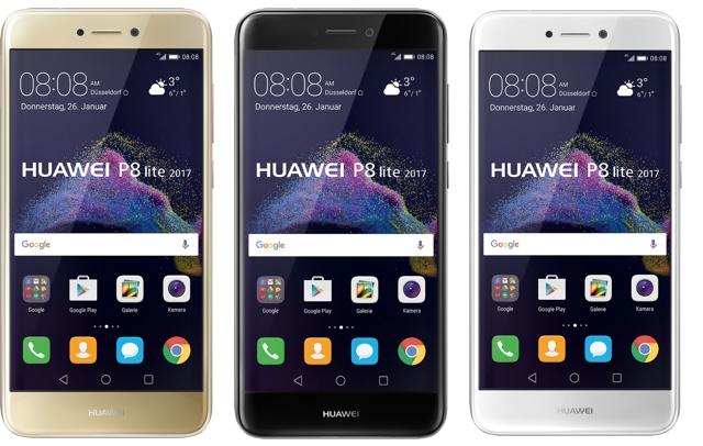Huawei zeigt das P8 Lite 2017
