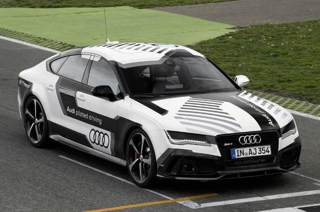 【ビデオ】世界一スポーティーな自動運転車、アウディ「RS7」プロトタイプ