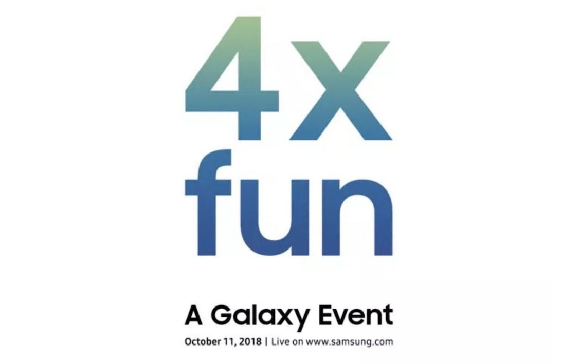 photo image Samsung teases October 11th Galaxy event with '4x fun'