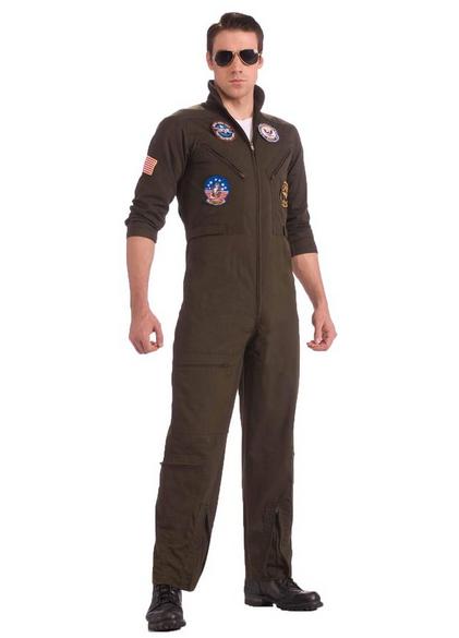 Top Gun Flight Suit Costume On Sale