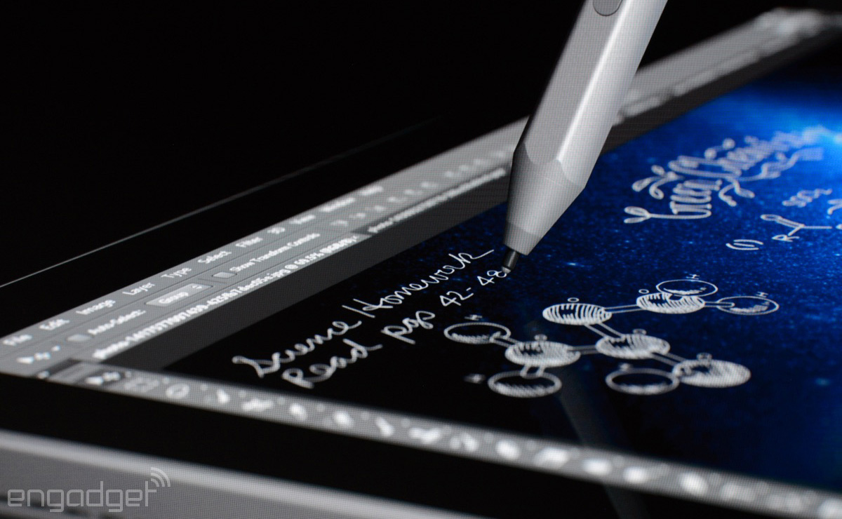 Artists rejoice: The Surface Pro 4's stylus has 1,024 touch levels