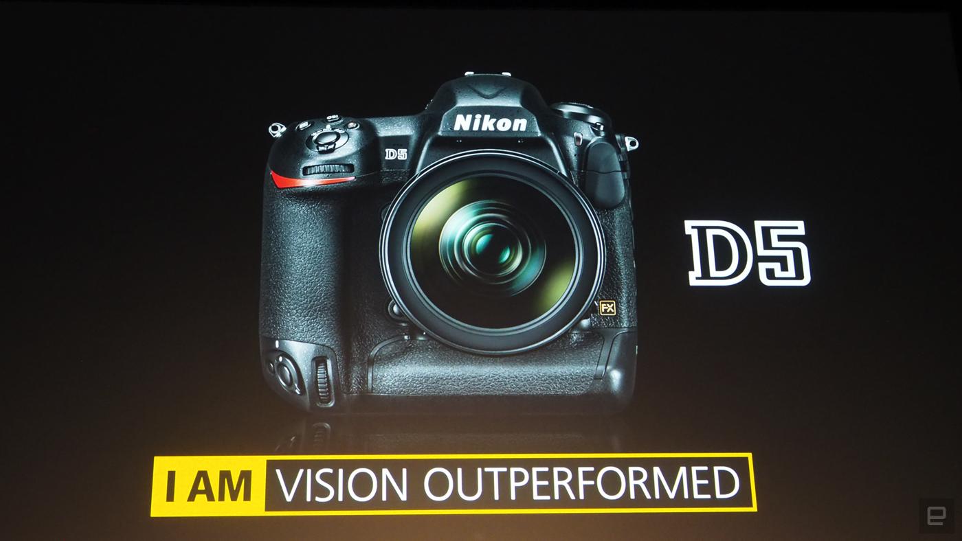 Nikon announces the D5, its new flagship DLSR camera