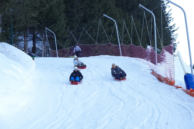 Courchevel sled run