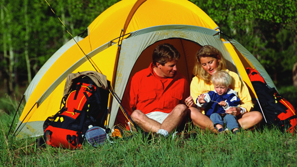 Family campsites in the UK