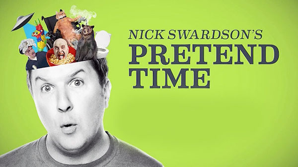 shows that never should have left comedy central, nick swardson's pretend time