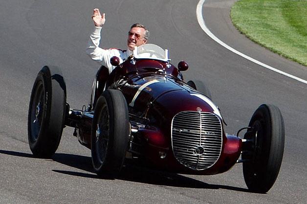 Maserati 8CTF at Indy