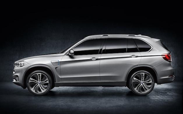 BMW's X5 plug-in hybrid concept