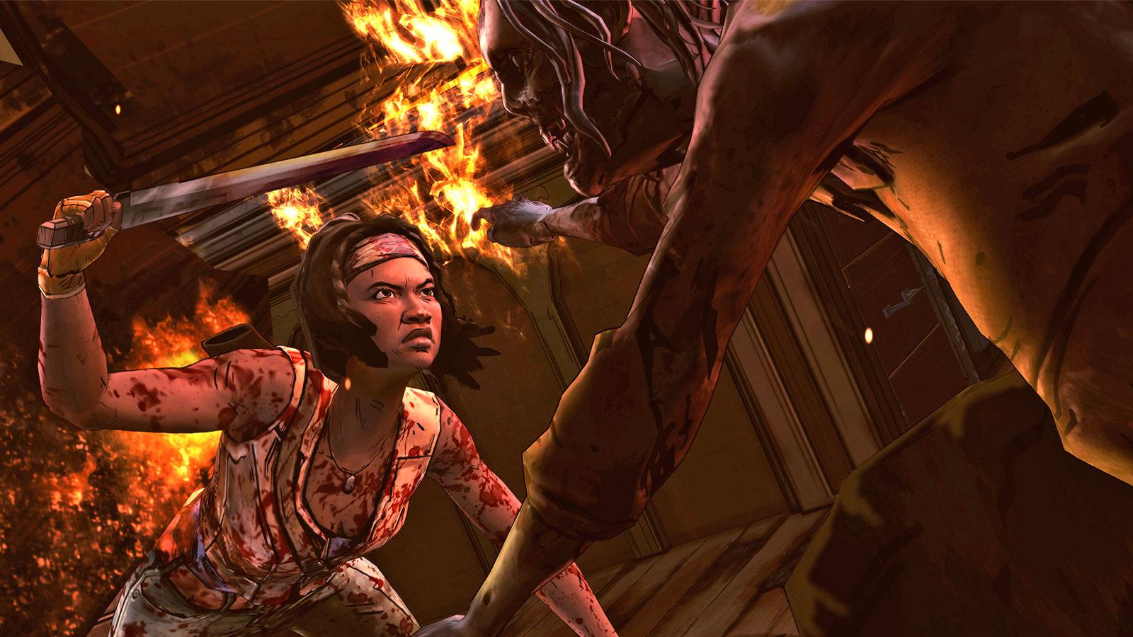 The Walking Dead: Michonne - A Telltale Miniseries concludes April 26
