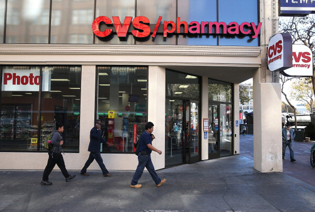 A CVS pharmacy in San Francisco