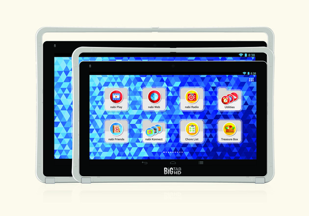 Nabi's Big Tabs are kid-friendly Android tablets the size of computer monitors