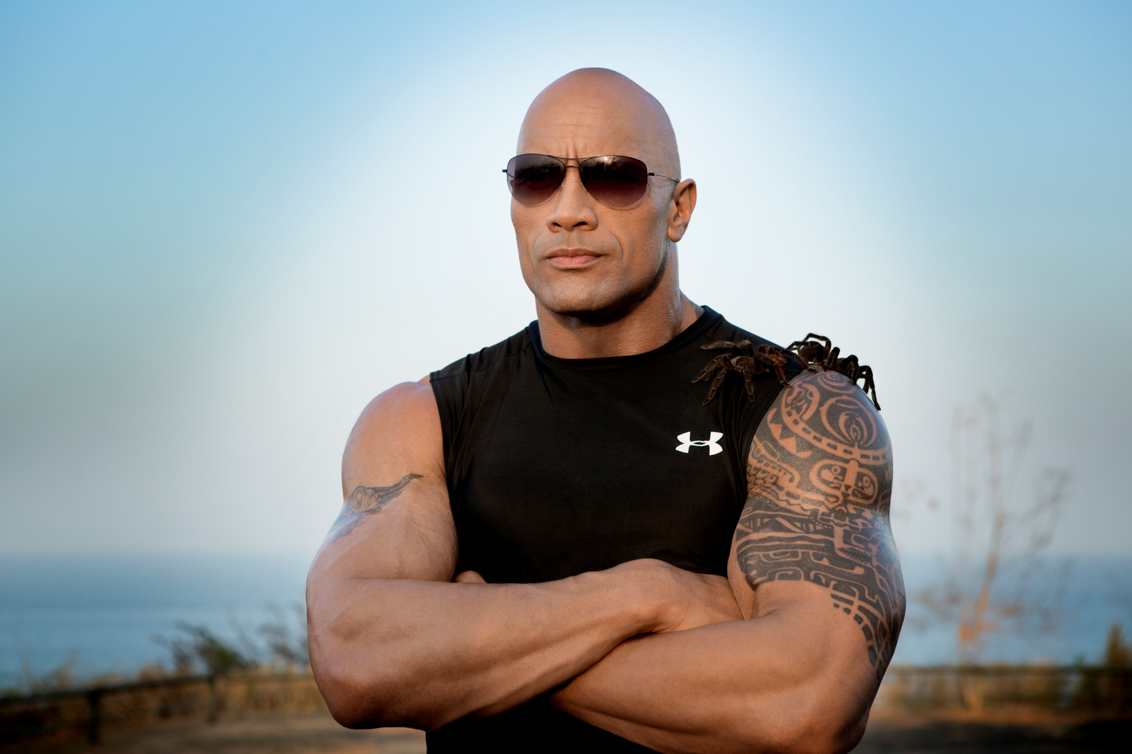 3 heroes The Rock could totally play.