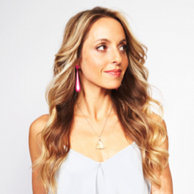 Gabby Bernstein at Cosmo Fun Fearless Life conference