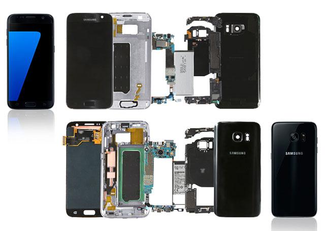 Samsung descuartiza sus propios Galaxy S7 para que los conozcas al detalle