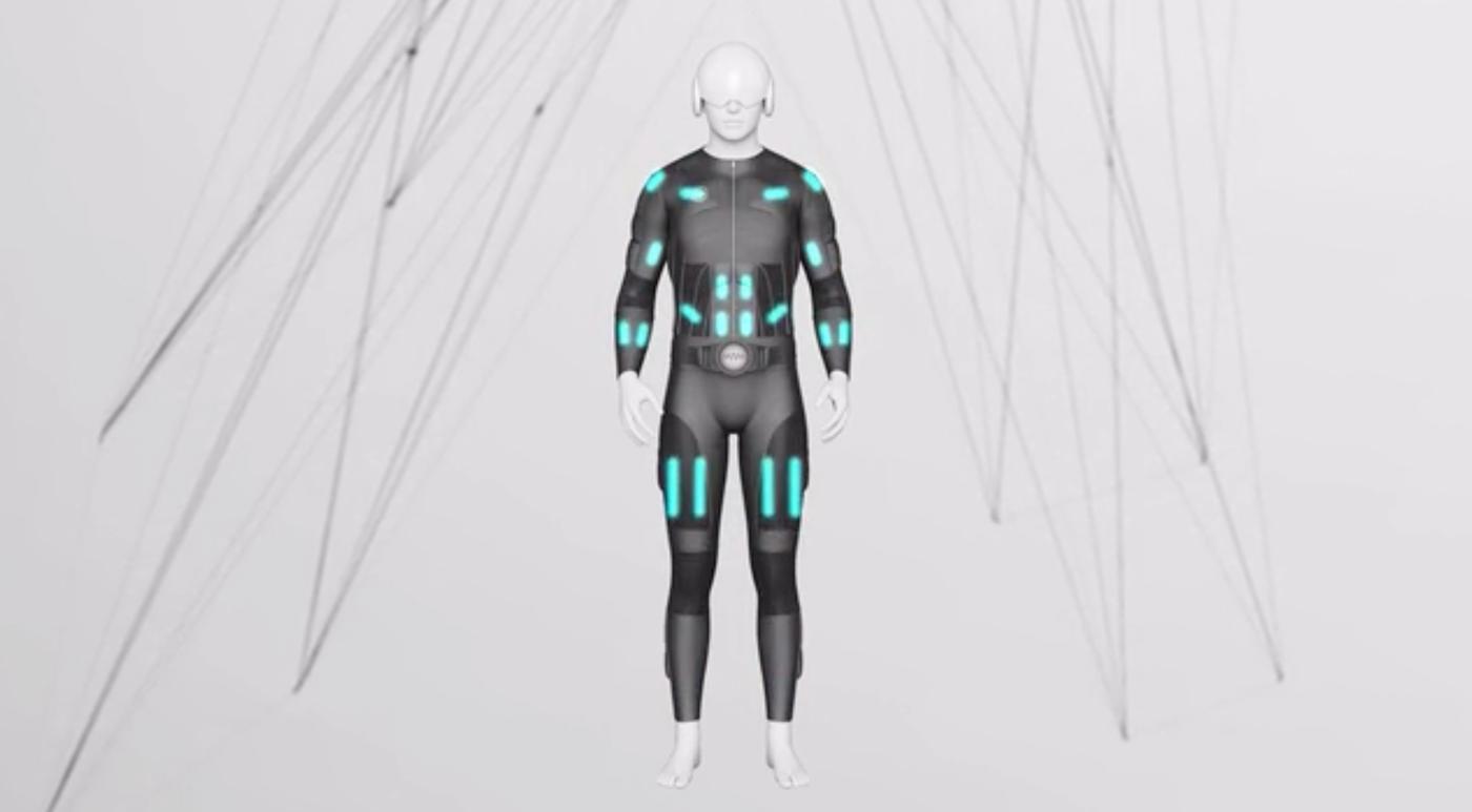 Teslasuit does full-body haptic feedback for VR