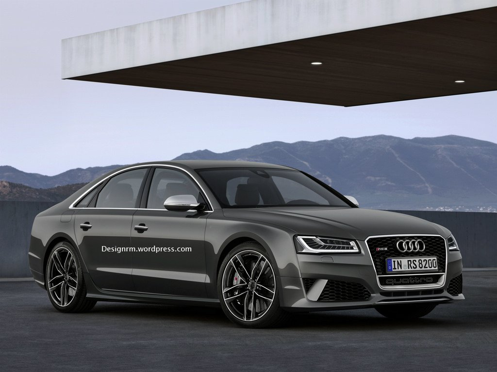 Audi, Audi S8, Audi RS8, autos von morgen, audi von morgen, RS8, rendering