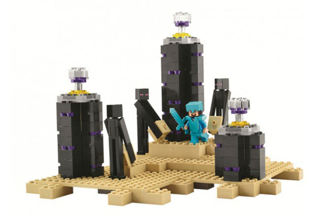 Lego Minecraft toys for Christmas