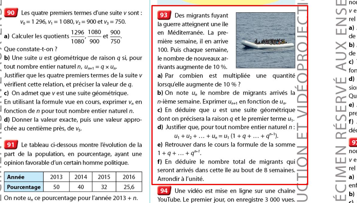 Un manuel Nathan fait polémique en illustrant un problème de maths avec des migrants  Probl%3Fme+migrants