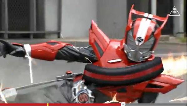 仮面ライダードライブの怪人が話題に ルー大柴、安田大サーカスとひな壇芸人を続々起用
