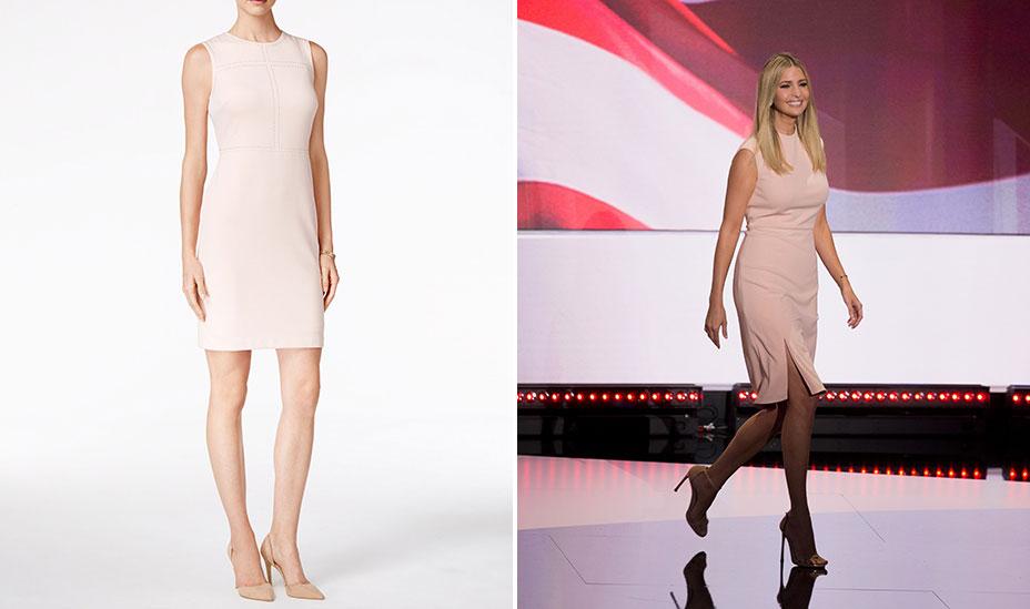 ivanka trump collection the $ 138 ivanka trump dress left ivanka trump ...