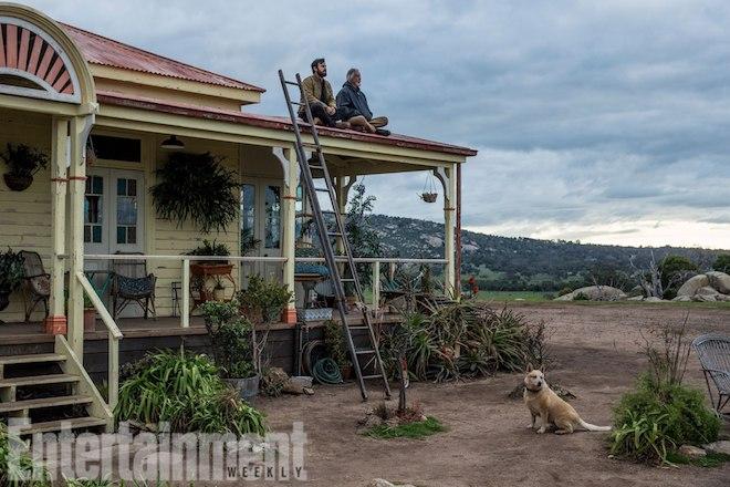 THE LEFTOVERSSeason 3Theroux as Kevin Garvey and Scott Glenn as Kevin Garvey Sr. in Australia