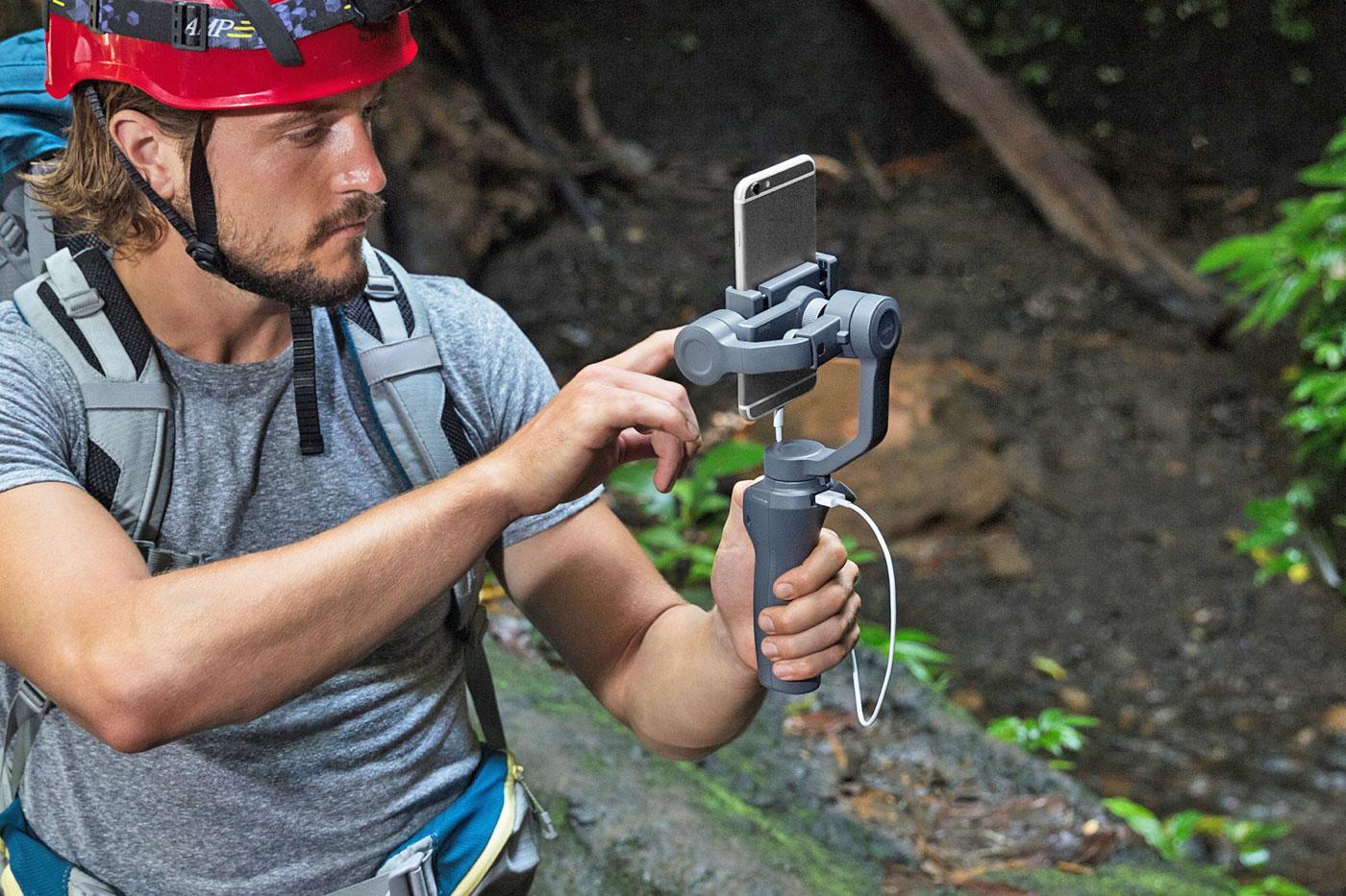 El nuevo estabilizador para móviles de DJI es más barato y más completo