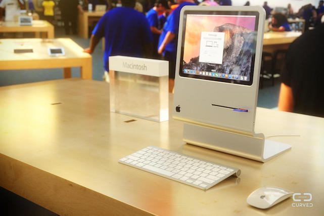CURVED/labs-Mac concept brings the original Mac up to date