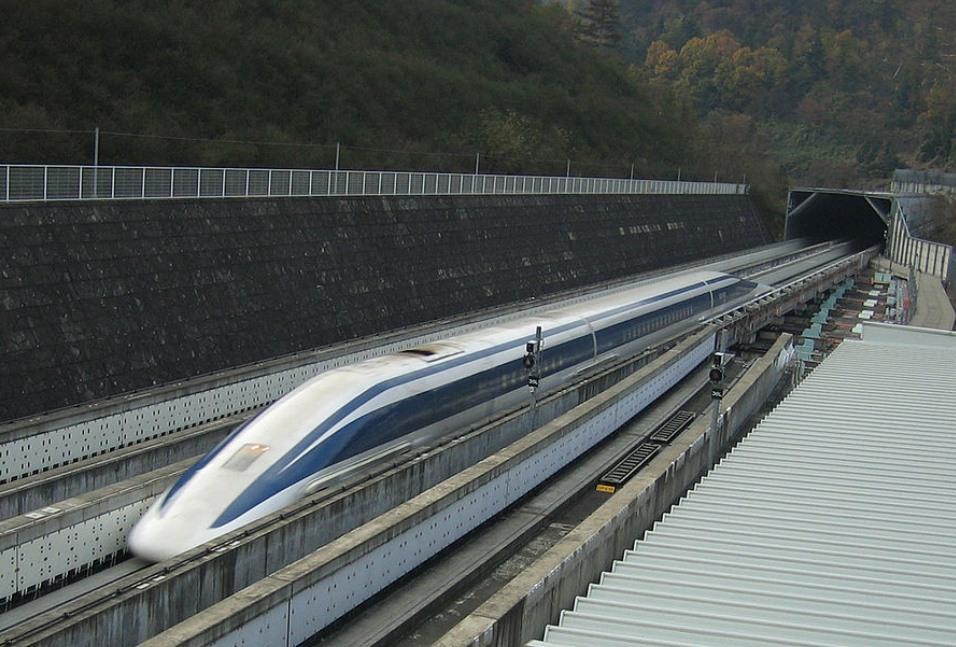Maglev, Magnetzug, schnellste eisenbahn der welt,  JR Tokai, Japan, Hochgeschwindigkeitszug, schnellster Zug der Welt