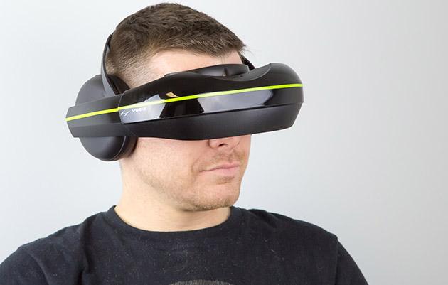 vuzix iwear720 lede Vuzixs new VR headset adds earphones and supports multiple devices