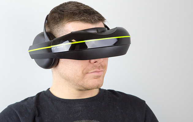 Vuzix's new VR headset adds earphones and supports multiple devices
