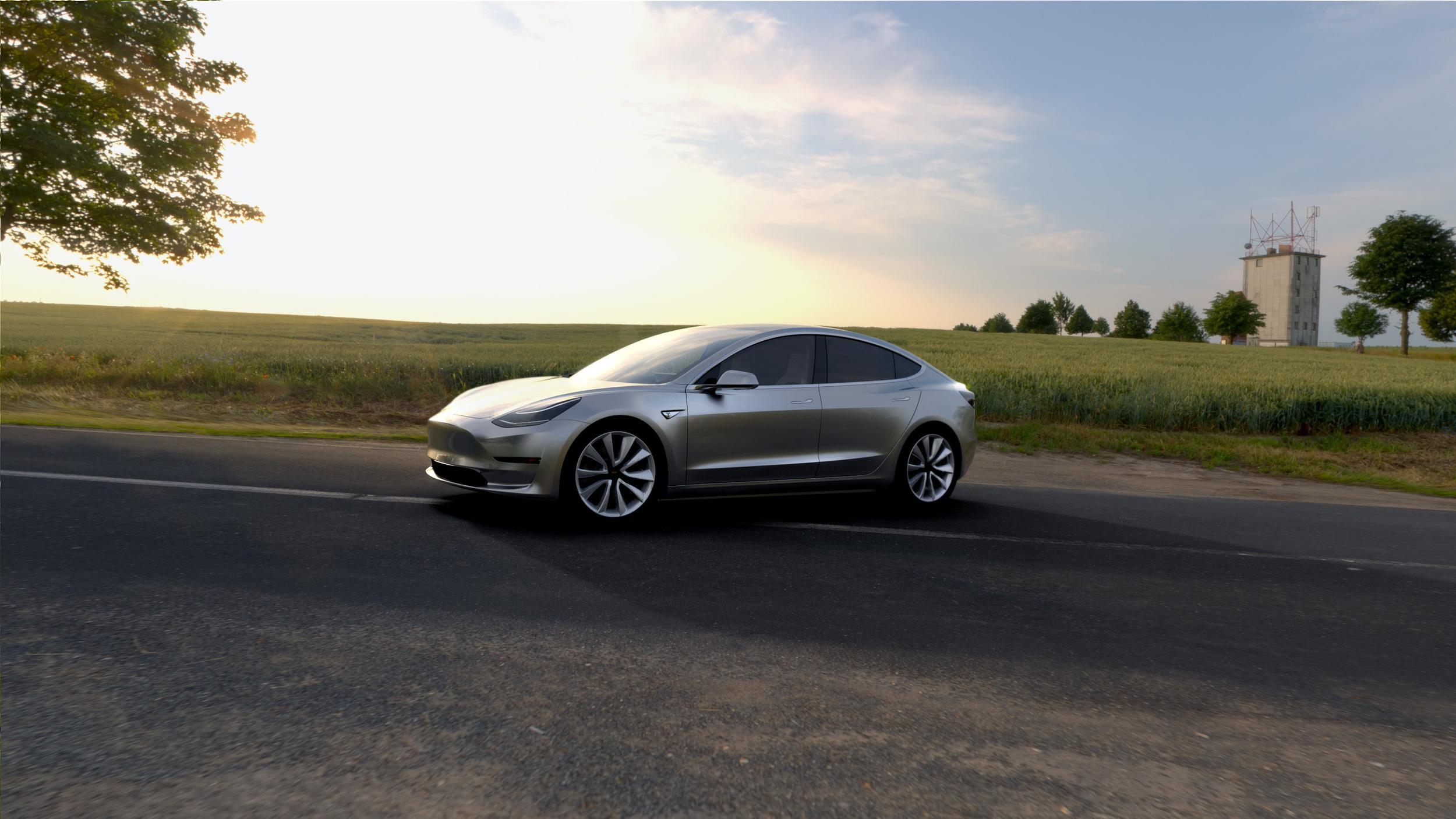 Schon 232.000 Bestellungen für das Tesla Model 3