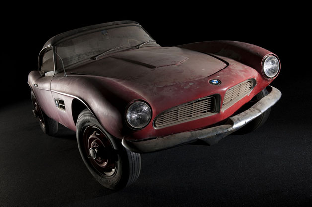 BMW begins restoring Elvis Presley's 507 [w/video]