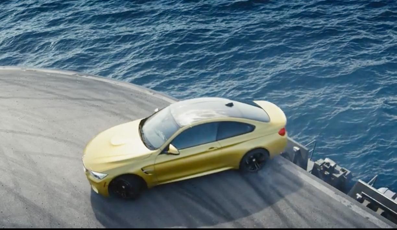 2014, 2015, Bilder, BMW M3, BMW M3 Limousine, BMW M4, BMW M4 Coupé, featured,  debüt, fotos, M3, M4, photos, premiere, gale, drift, action, Flugzzeugträge