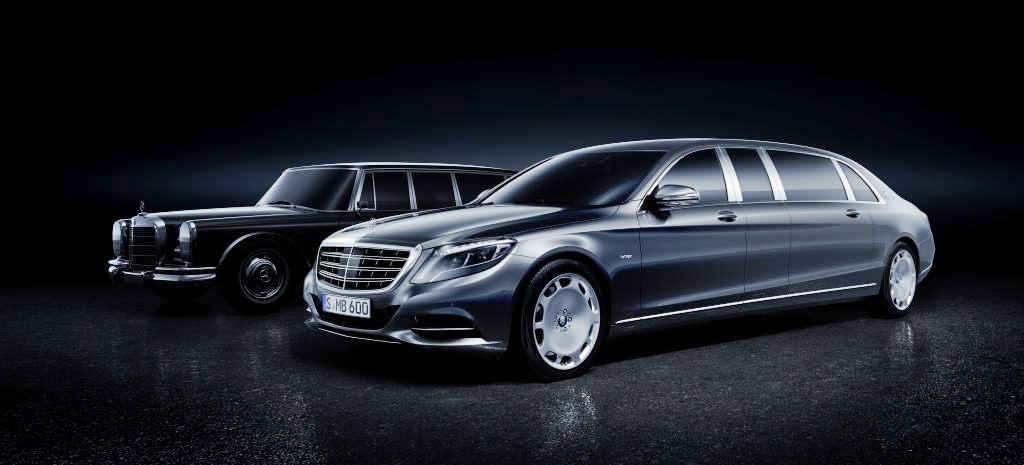 Premiere: Mercedes-Maybach Pullman