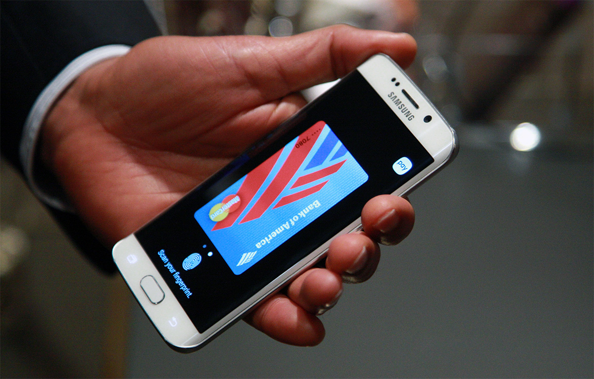 Samsung Pay in action
