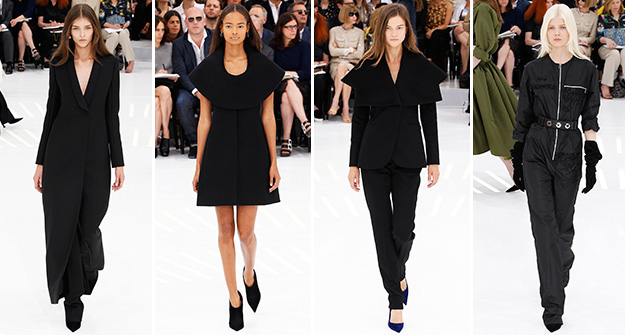 The trend report: Back in all black