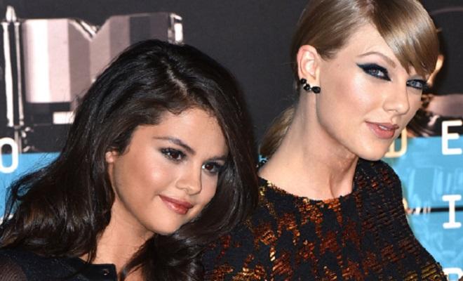 Selena Gomez and Taylor Swift